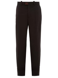 Raf Simons Tailored Twill Trousers Black