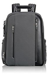 Men's Tumi 'Arrive Logan' Backpack Metallic Pewter