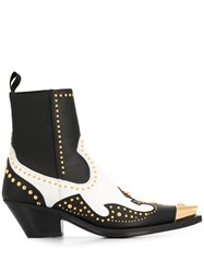 Versace Studded Ankle Boots 60