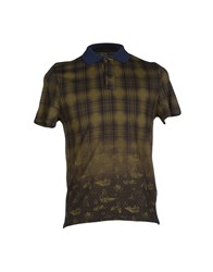C.P. Company Topwear Polo Shirts Men Military Green