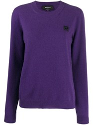 Rochas Logo Embroidered Sweater 60