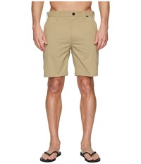 Hurley Dri Fit Chino Walkshorts 19 Khaki