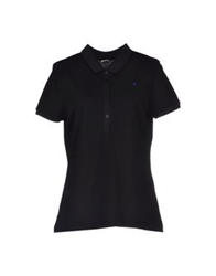 Le Coq Sportif Polo Shirts Black