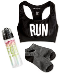 Ideology Racerback Sports Bra Gift Pack Only At Macy's
