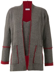 Mara Mac Knitted Cardigan Grey