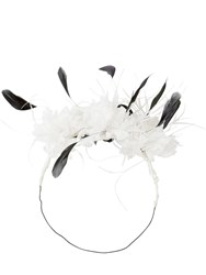 Ann Demeulemeester Flowers And Feathers Crown White