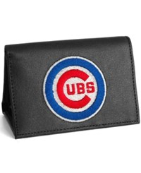 Rico Industries Chicago Cubs Trifold Wallet Black
