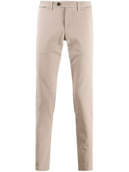 Eleventy Slim Fit Mid Rise Trousers 60