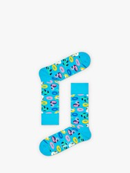 Happy Socks Pool Party One Size Blue