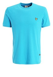 Lyle And Scott Strachan Basic Tshirt Peacock Blue