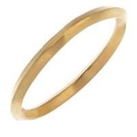 Rhiannon Lewis Jewellery Gold Vermeil Stacking Ring