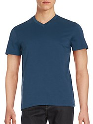 Saks Fifth Avenue Slim Fit V Neck T Shirt Moroccan