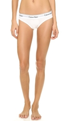 Calvin Klein Underwear Modern Cotton Bikini Briefs White