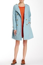 Lavand Trench Coat Blue