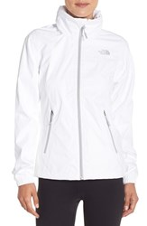 The North Face Women's 'Resolve Plus' Waterproof Jacket Tnf White Tnf White