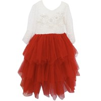 Lilly Bo Billie Party Dress Red