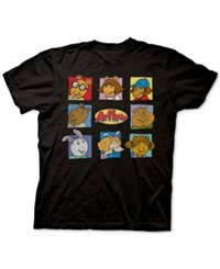 New World Arthur Graphic T Shirt Black
