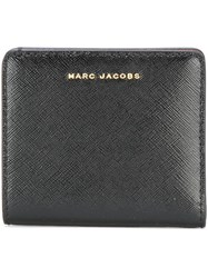 Marc Jacobs Bi Colour Open Face Billfold Wallet Black
