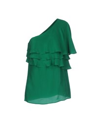 Space Style Concept Topwear Tops Women Green