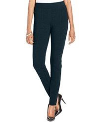Styleandco. Style Co. Petite Stretch Ponte Leggings Only At Macy's Industrial Blue