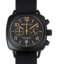 Briston Clubmaster Chronograph Watch 13140.Pbam.B.4.Nb Black