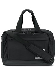 Y 3 Embroidered Logo Holdall Black