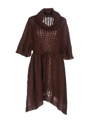 Aniye By Guardaroba Coats And Jackets Capes And Ponchos Cocoa