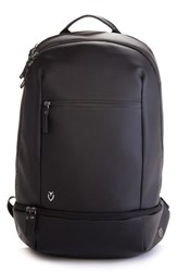 Men's Vessel 'Signature' Backpack Black Pebbled Black
