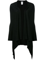 Kristensen Du Nord Waterfall Open Front Cardigan Black