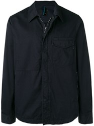 Paul Smith Ps By Zip Up Shirt Jacket Blue