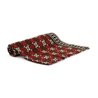 Meesha Paddy Scarf 140X230 Red Green