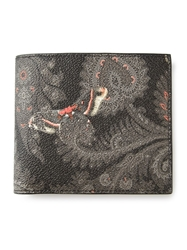 Givenchy Paisley Billfold Wallet Multicolour
