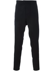 Ann Demeulemeester Blanche Drop Crotch Pants Black