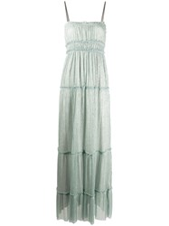 Alysi Square Neck Ruched Detail Dress 60
