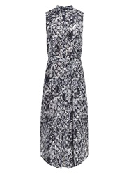 Saloni Molly Python Print Silk Dress