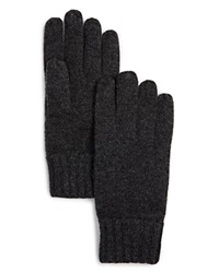 The Men's Store At Bloomingdale's Cashmere Gloves Grey