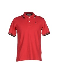 Geox Topwear Polo Shirts Men Red