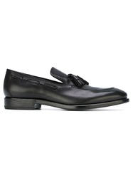 Henderson Fusion Tassel Detail Loafers Black