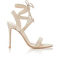 Gianvito Rossi Women's Zigzag Ankle Strap Sandals Grey