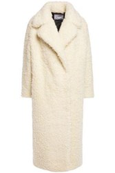 Ainea Woman Faux Shearling Coat Ivory