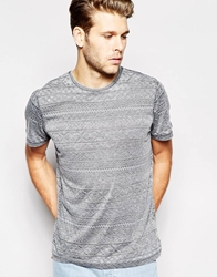 Another Influence Multi Print T Shirt Grey