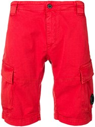 C.P. Company Cp Relaxed Shorts Red