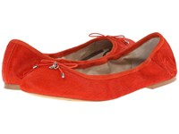 Sam Edelman Felicia Neon Red Women's Flat Shoes Pink
