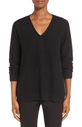 Nordstrom Women's Collection V Neck Cashmere Pullover