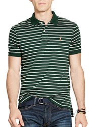 Polo Ralph Lauren Striped Pima Cotton Shirt Green