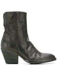 Officine Creative Agnes Boots Green