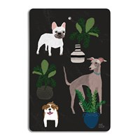 Avenida Home Annie Bentley Cats And Dogs Chopping Board Dog
