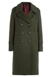 Blauer Coat With Wool Green