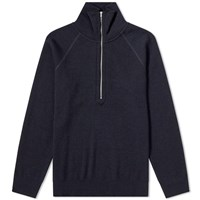 S.N.S. Herning Standard 1 4 Zip Sweat Blue