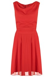 Swing Cocktail Dress Party Dress Kaminrot Red